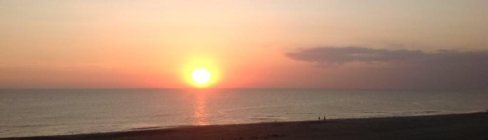 Sonnenaufgang - ein neuer Tag beginnt.