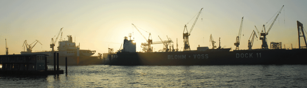 Verkaufstraining Hamburg - Blick auf die Elbe im Hamburger Hafen