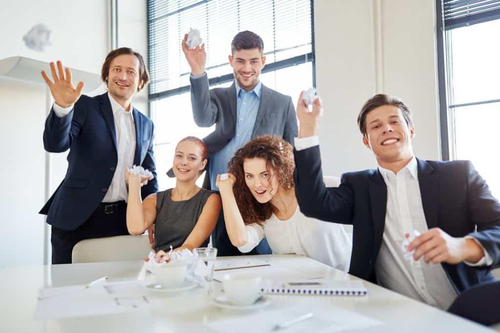 Training der Mitarbeiterführung kann auch viel Spaß machen.